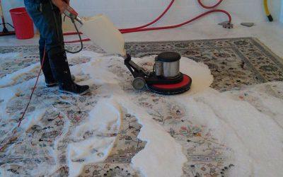 Lavaggio di tappeti